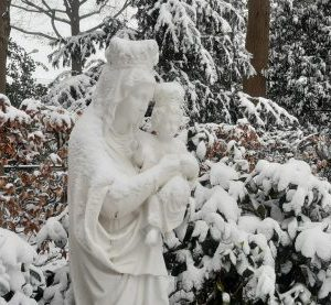 Koning Winter in de Kloostertuin